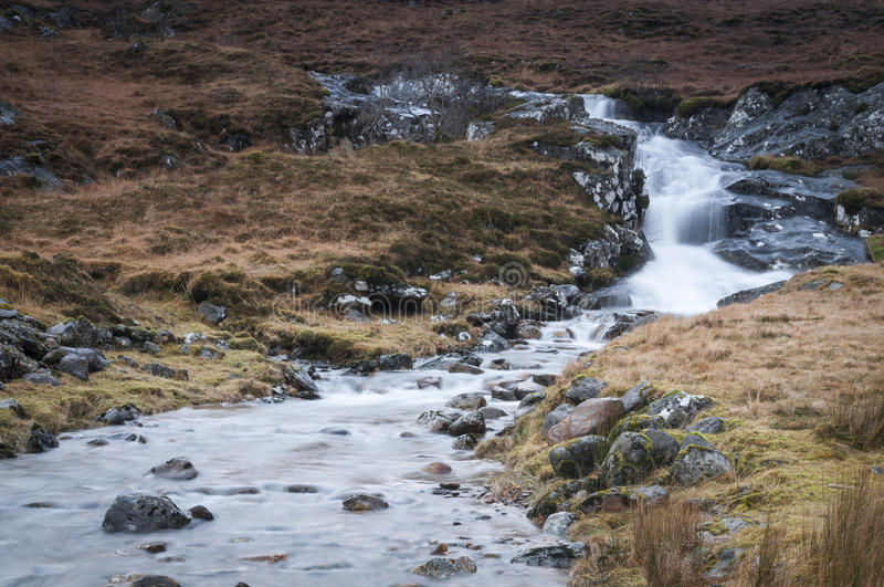 Eas Coire nan Choire waterfall royalty free stock photography