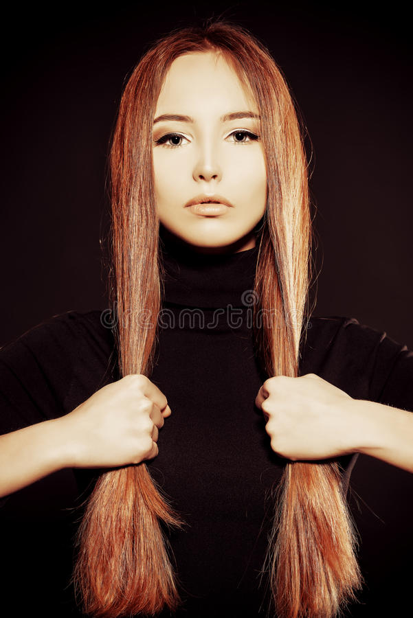 Ease hairs stock images