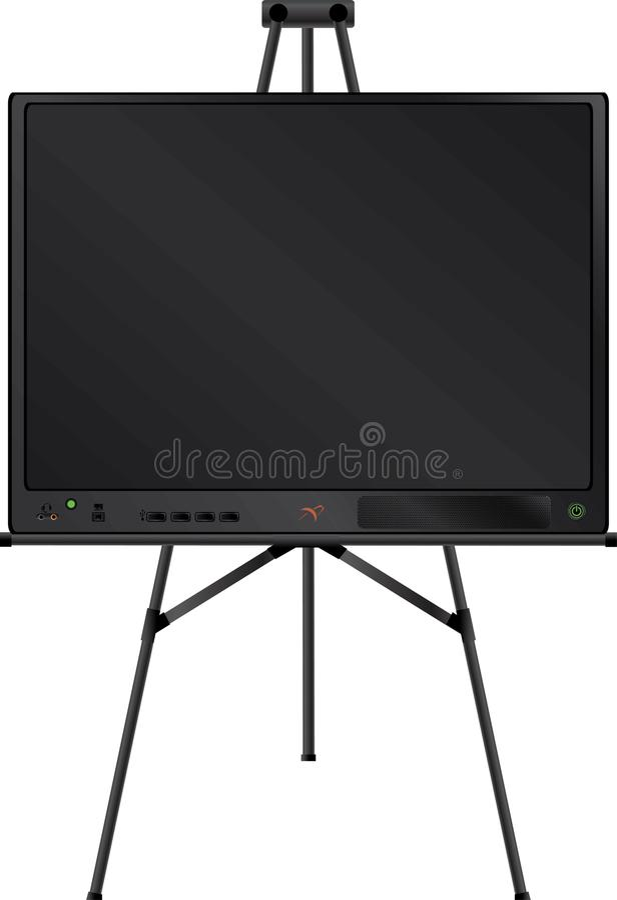 easel TV ελεύθερη απεικόνιση δικαιώματος