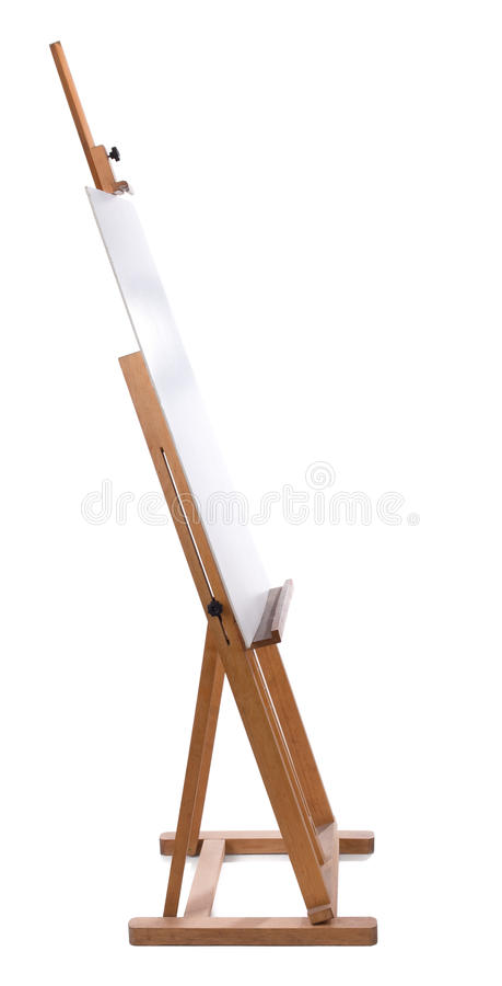 Free Easel With Blank Canvas Stock Image - 13463801