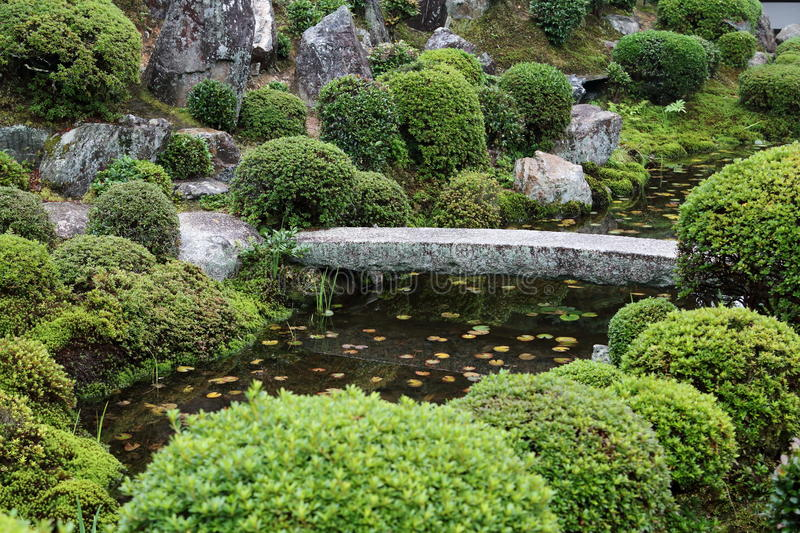 East Asian Garden 1 stock photo. Image of greenery, water - 83678866