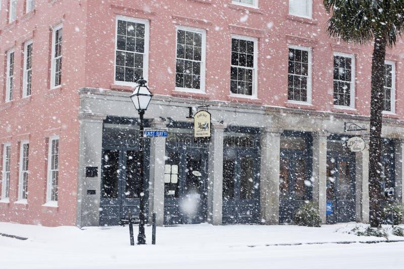 East Bay Meeting House, Charleston, SC stock photos