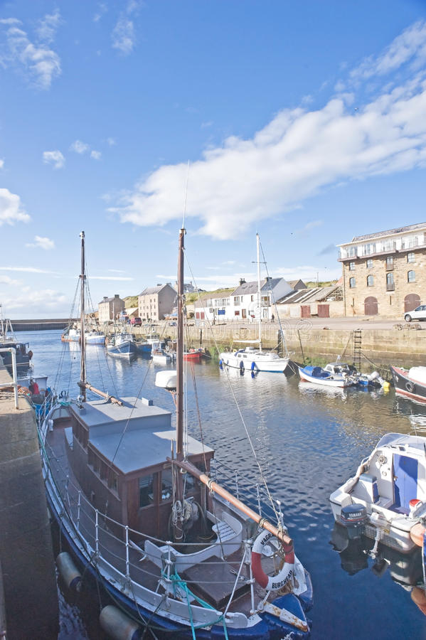 Download East Coast Trail: Burghead Harbor. Editorial Image - Image: 21294745