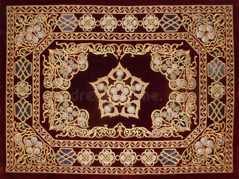 East decorative pattern royalty free stock photo