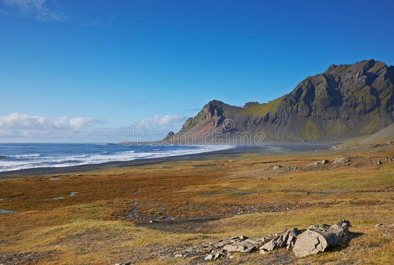 Download East Fjords, Iceland stock photo. Image of desolate, clouds - 13567674