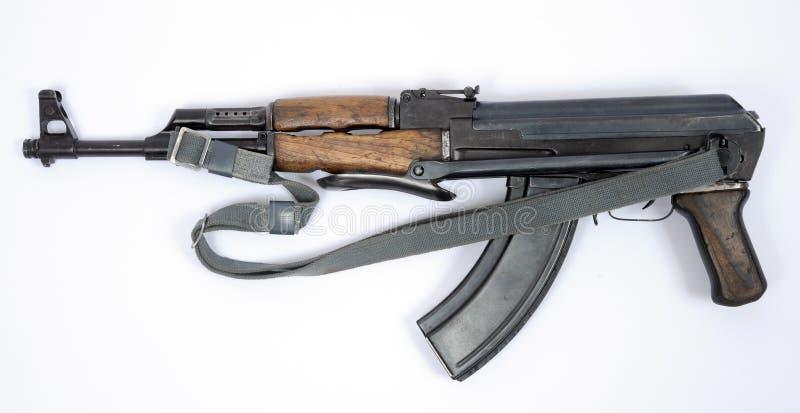 East German Kalashnikov AK47 assault rifle stock photo