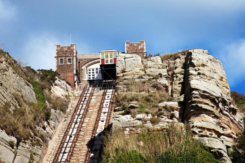 Download East Hill Cliff Railway stock image. Image of great, rock - 16264715