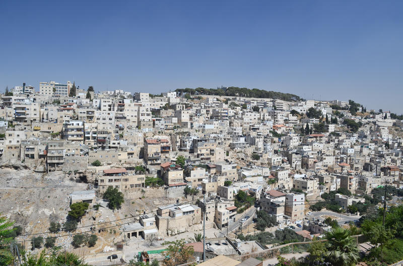 East Jerusalem Royalty Free Stock Photography