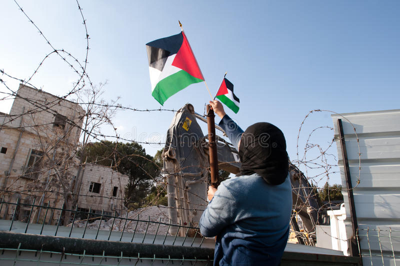 Download East Jerusalem Protest editorial photo. Image of arab - 17830041