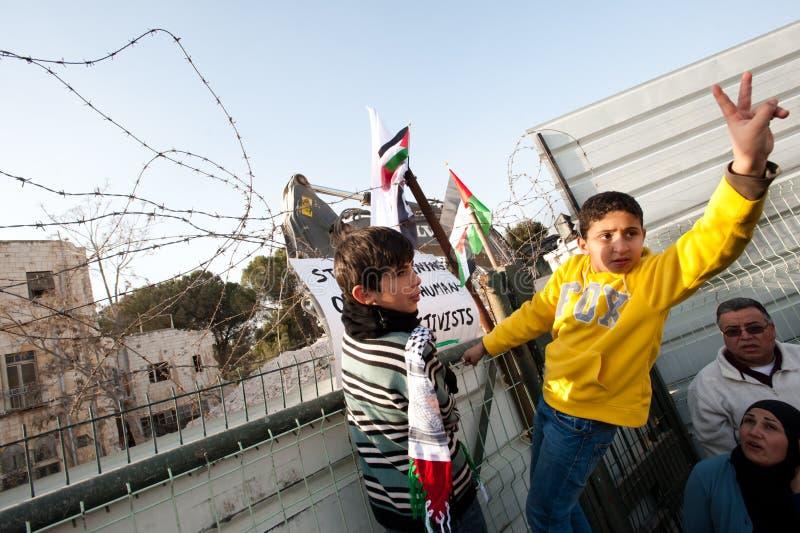 Download East Jerusalem Protest editorial stock image. Image of hotel - 17830114