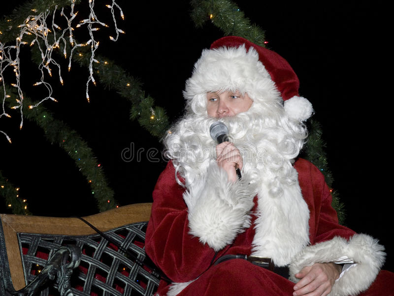 Download East Lake Fire Department Santa Claus Editorial Stock Photo - Image: 12080118