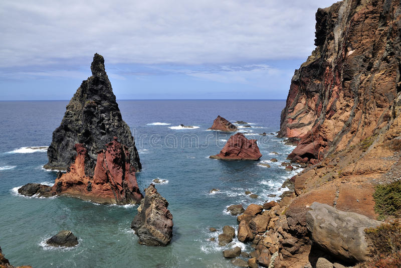 East of Madeira island, Ponta de Sao Lourenco royalty free stock images
