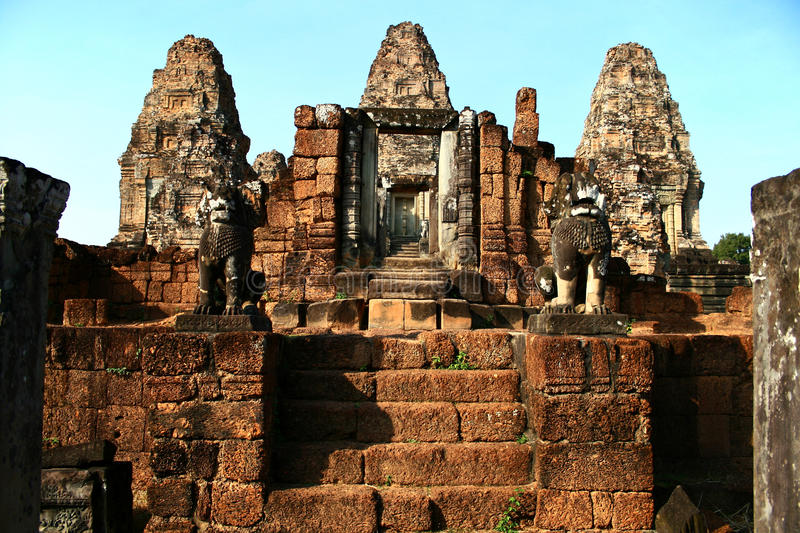 Download East Mebon,Angkor stock image. Image of steps, structure - 16628719