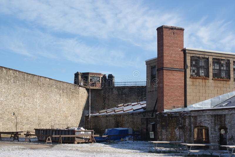 East penitentiray Yard royalty free stock photo