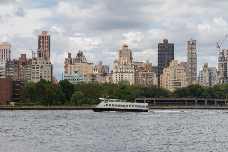 East River Ansicht von der Königin NY stockfoto