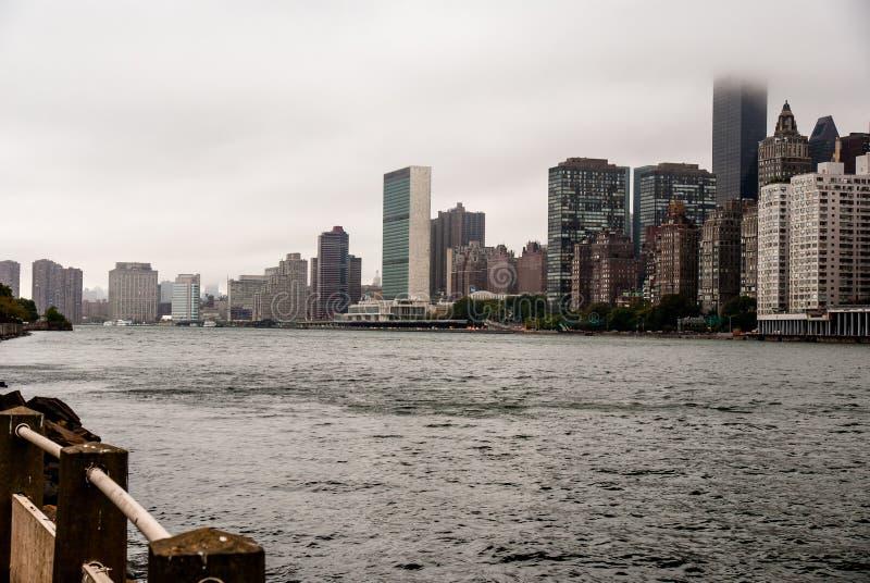 East River I fotos de archivo
