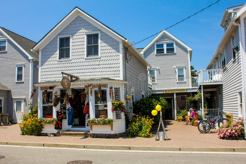 East of the River Nile; Trading Company, Block Island, RI. royalty free stock images