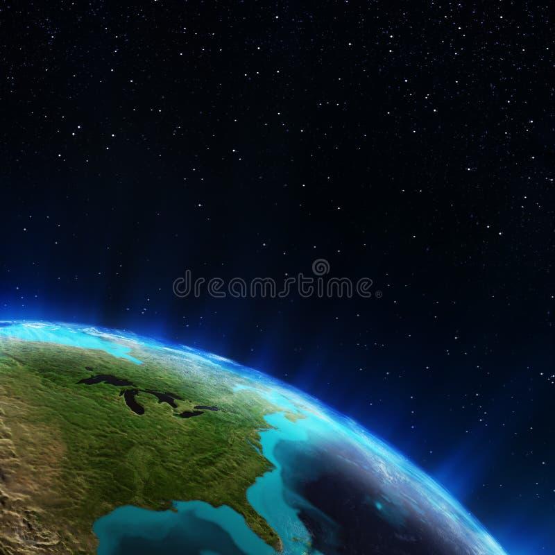 Download East USA stock illustration. Illustration of rays, global - 42997127