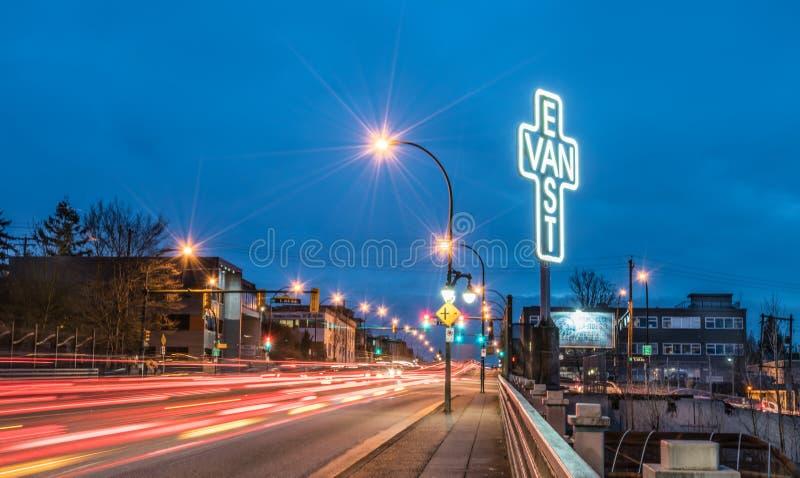 East van Cross image stock