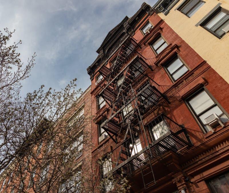 East Village New York Apartments: East Village Apartments, New York Stock Photo