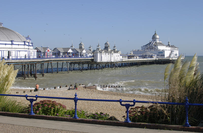 Download Eastbourne Beach And Pier. East Sussex.UK Royalty Free Stock Image - Image: 17872516