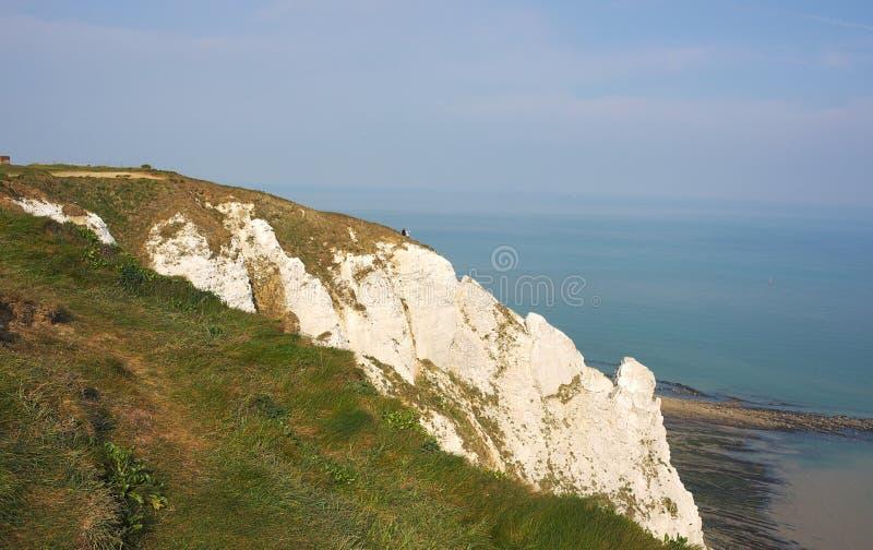 Eastbourne - Beachy frontal överkant - V - royaltyfri bild