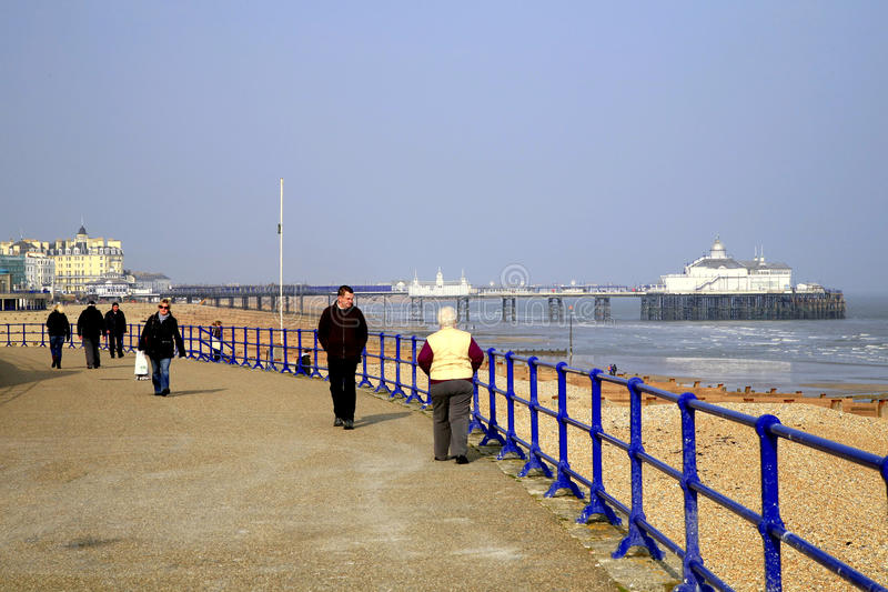 Eastbourne, East Sussex, UK. royalty free stock photography