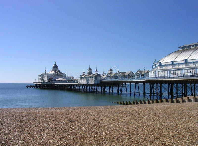 eastbourne pier στοκ εικόνα με δικαίωμα ελεύθερης χρήσης