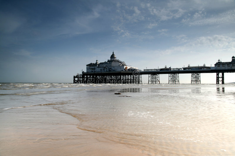 Download Eastbourne pier stock image. Image of victorian, bird - 5084629