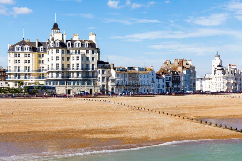 Eastbourne Wschód Sussex obrazy royalty free