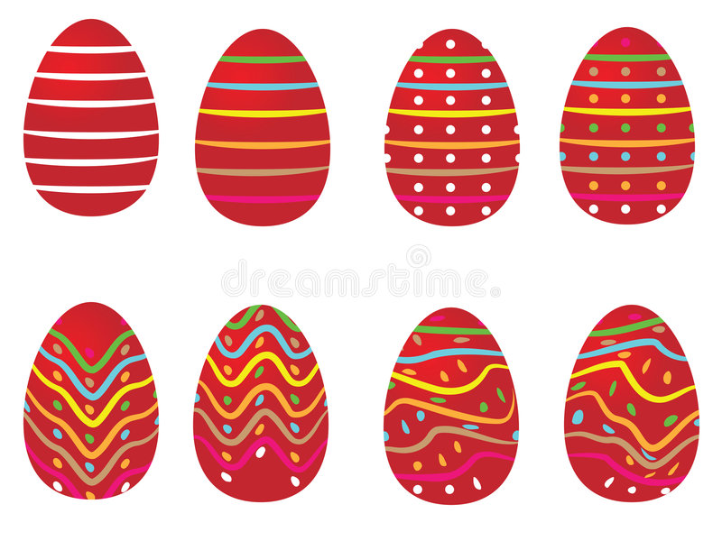 easter ägg royaltyfri illustrationer