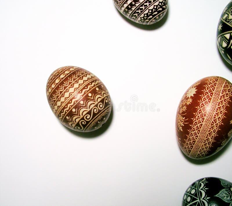 easter äggpolermedel royaltyfri bild