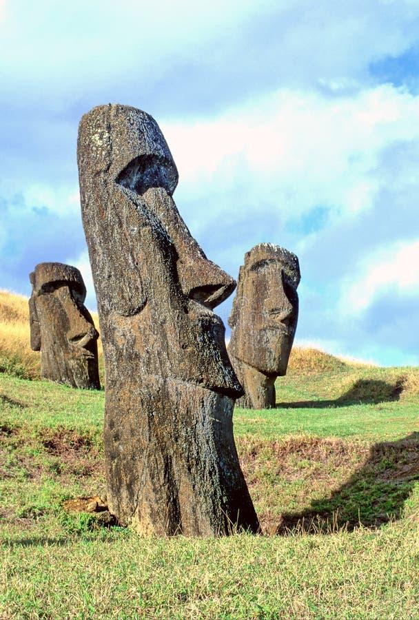Download Easter ömoai arkivfoto. Bild av polynesia, klosterbroder - 515454