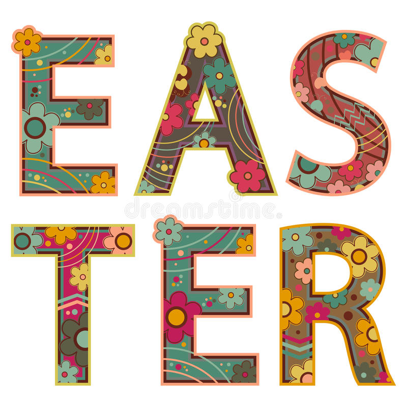 Download Easter stock vector. Image of revival, shapes, elements - 13369930