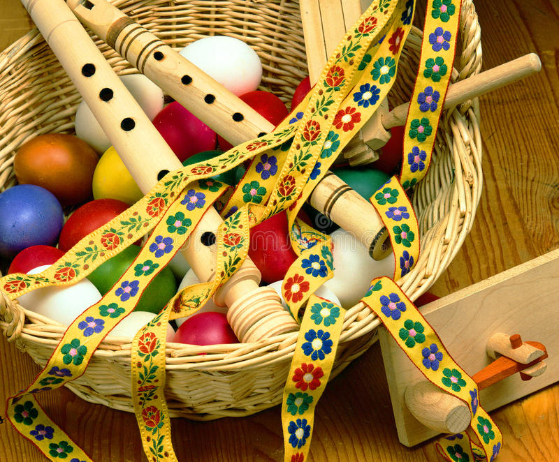 Download Easter stock photo. Image of festive, basket, decoration - 19019080