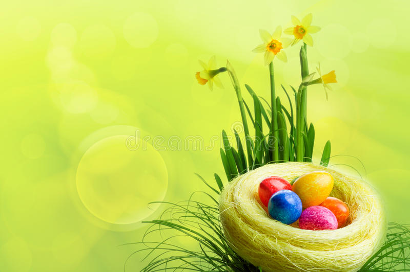 Download Easter stock image. Image of colored, color, colorful - 23875635