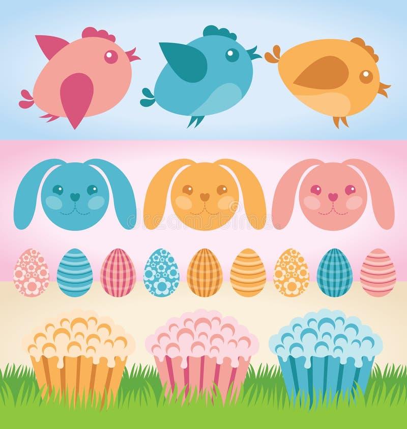 Easter-2015 иллюстрация штока