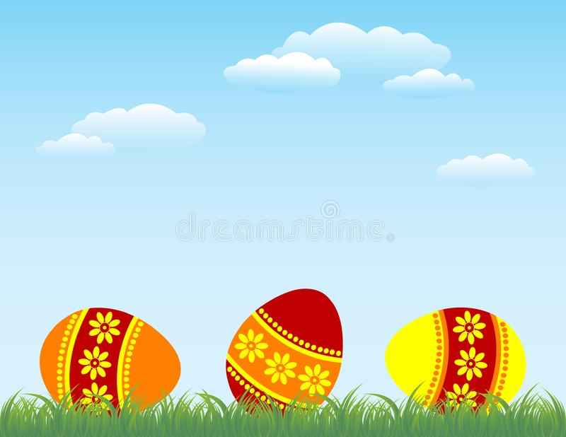 Download Easter stock vector. Illustration of decorated, blade - 8494017