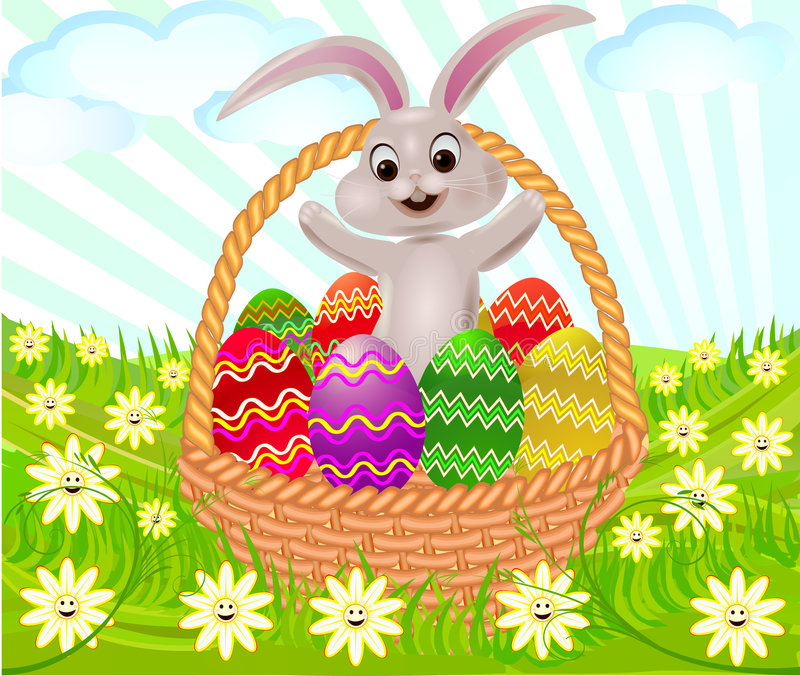 Easter  artistic  background