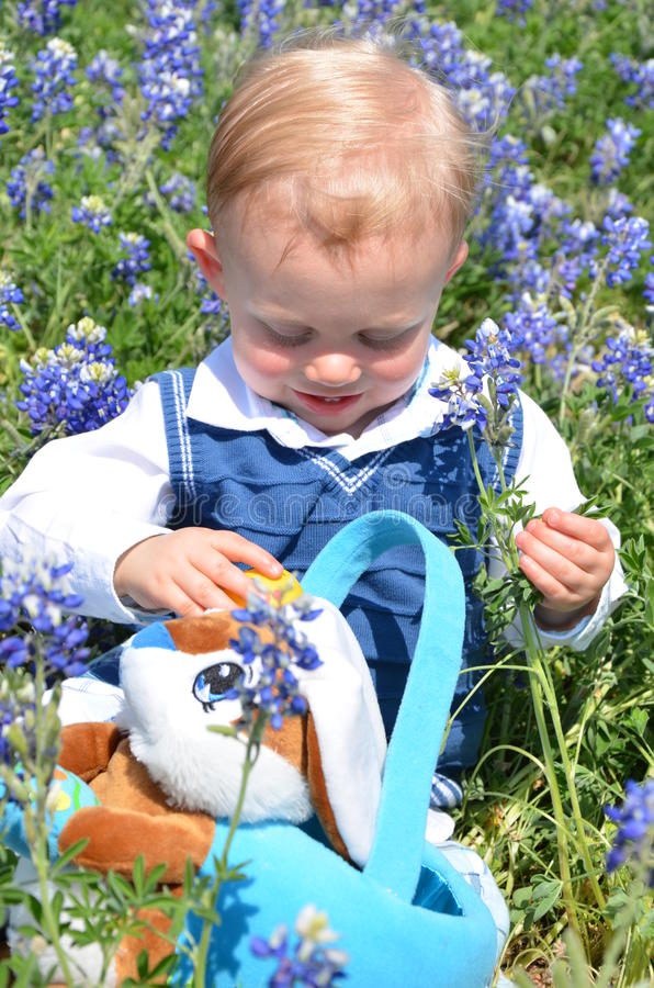 Download Easter Baby stock photo. Image of child, picking, toddler - 23301124