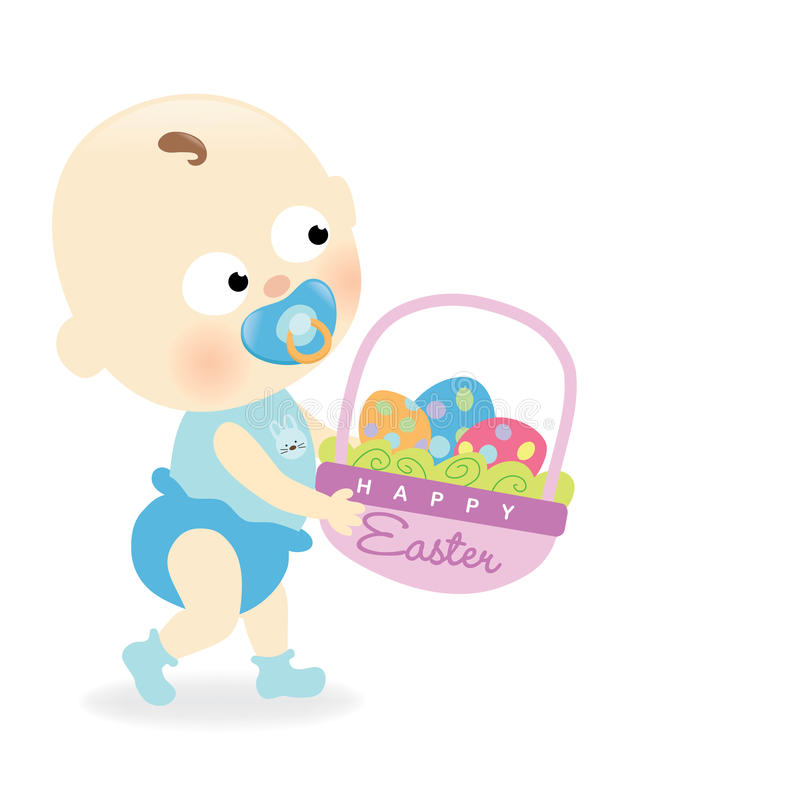 Download Easter baby stock vector. Image of pastel, isolated, baby - 23490600