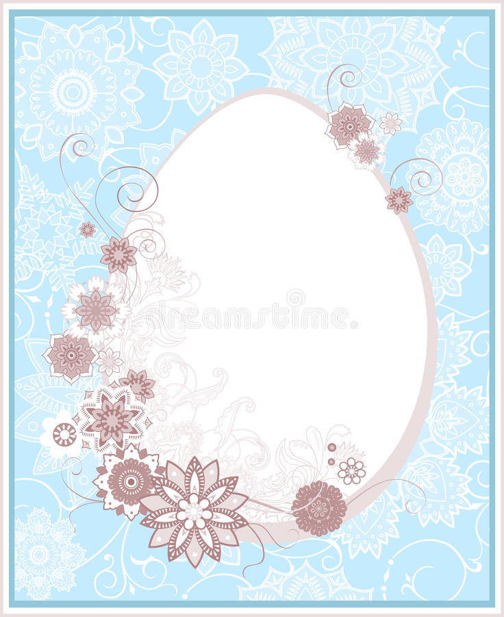 Download Easter backgrond stock vector. Image of element, daisy - 13306908