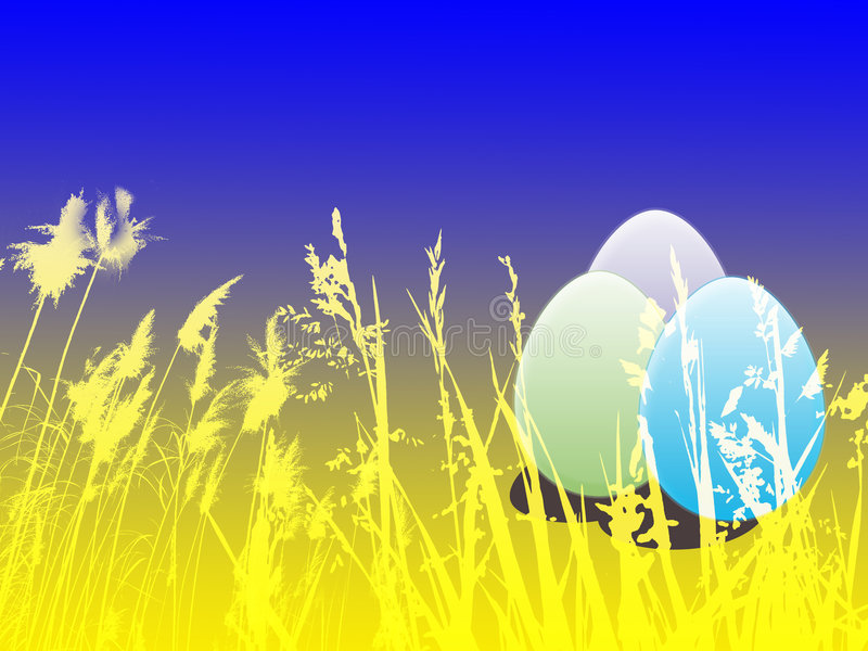 Easter background royalty free illustration
