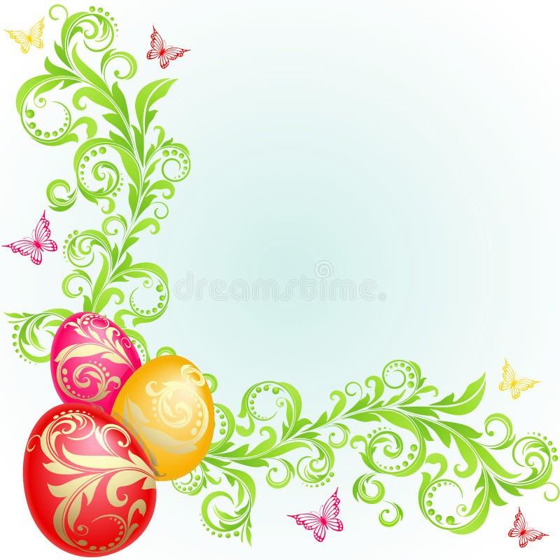 Easter background royalty free illustration