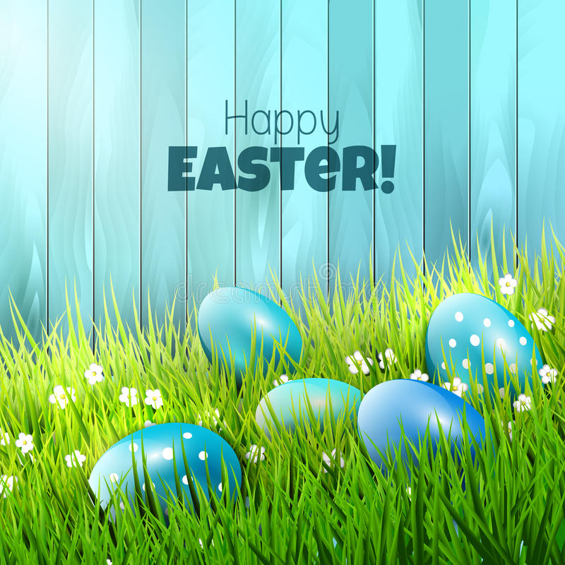 Download Easter background stock vector. Illustration of grass - 43244909
