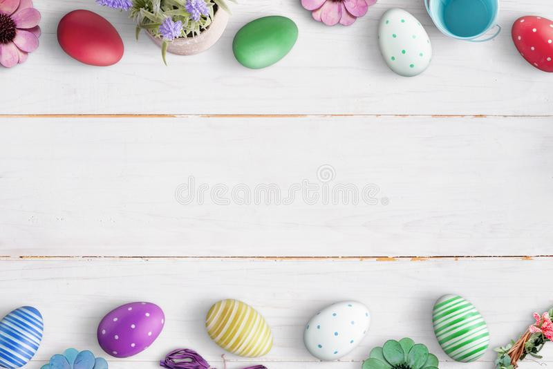 Easter background image with free space for text stock images
