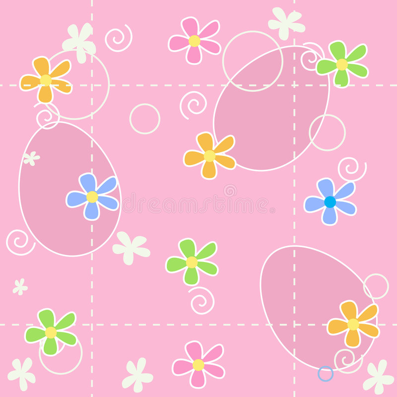 Easter background seamless pattern royalty free stock photo