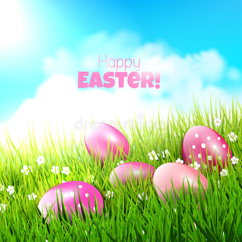 Download Easter Background Stock Vector - Image: 43244857