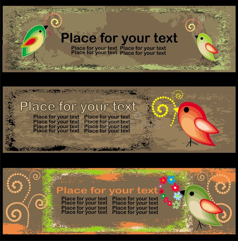 Free Easter Banners Royalty Free Stock Photo - 8624395