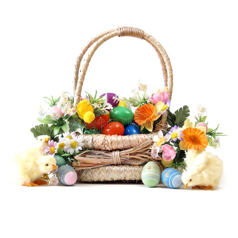 Download Easter Basket Royalty Free Stock Photos - Image: 17785218